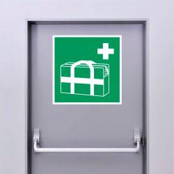 Autocollant Panneau Sac médical d'urgence - ISO7010 - E027