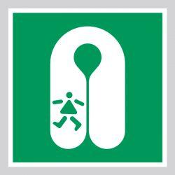 Autocollant Panneau Gilet de sauvetage pour enfant - ISO7010 - E045