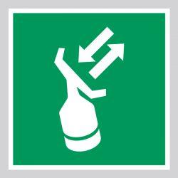 Autocollant Panneau Transpondeur de recherche et de sauvetage - ISO7010 - E047
