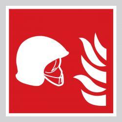 Autocollant Panneau Équipements de lutte contre l'incendie - ISO7010 - F004B