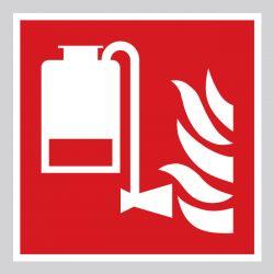 Autocollant Panneau Unité portable d'application de mousse - ISO7010 - F010