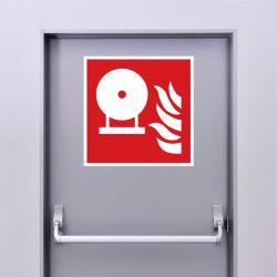 Autocollant Panneau Extincteur d'incendie fixe - ISO7010 - F013