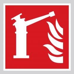 Autocollant Panneau Moniteur d'incendie - ISO7010 - F015