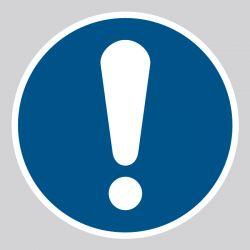 Autocollant Panneau Obligation générale - ISO7010 - M001
