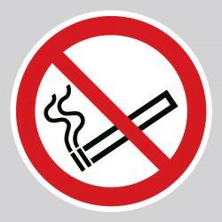Autocollant Panneau interdiction de fumer - ISO7010 - P002