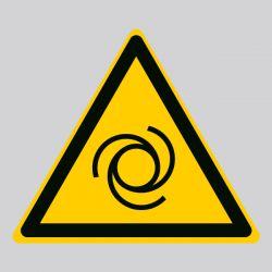 Autocollant Panneau danger démarrage automatique - ISO7010 - W018