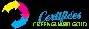Encres certifiées Greenguard Gold
